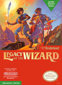 Portada de la descarga de Legacy of the Wizard