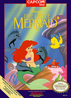 Portada de la descarga de Disney's The Little Mermaid