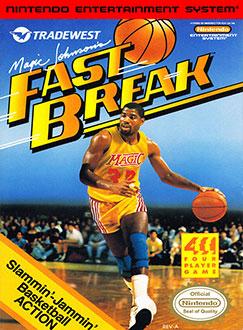 Portada de la descarga de Magic Johnson's Fast Break