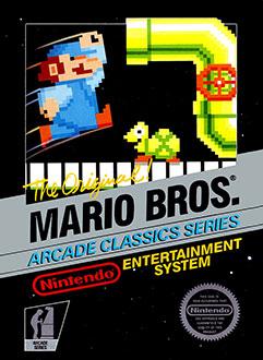 Portada de la descarga de Mario Bros.