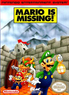 Portada de la descarga de Mario is Missing!