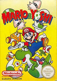 Portada de la descarga de Mario & Yoshi