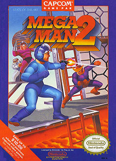 Carátula del juego Mega Man 2 (NES)