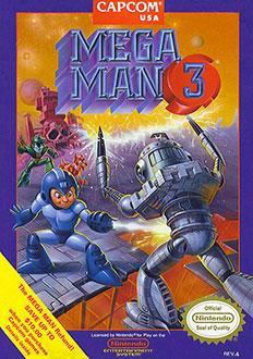 Portada de la descarga de Mega Man 3