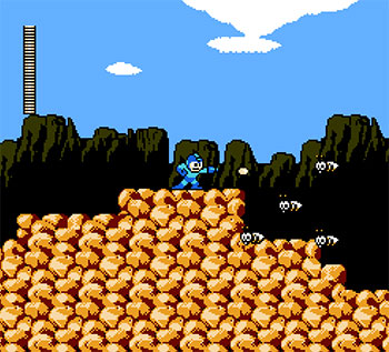 Pantallazo del juego online Mega Man 3 (NES)