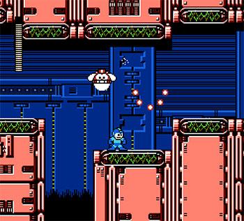 Pantallazo del juego online Mega Man 4 (NES)