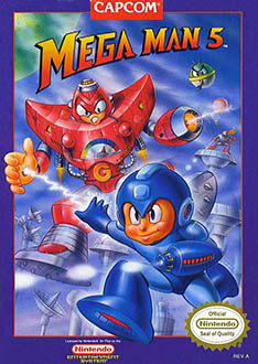 Carátula del juego Mega Man 5 (NES)