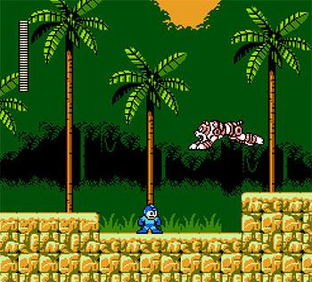 Pantallazo del juego online Mega Man 5 (NES)