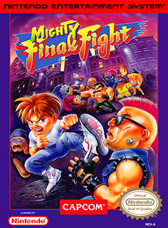 Portada de la descarga de Mighty Final Fight