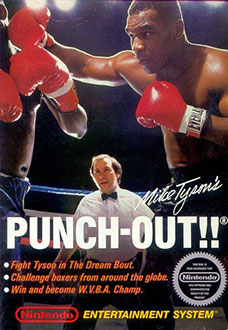Carátula del juego Mike Tyson's Punch-Out!! (NES)
