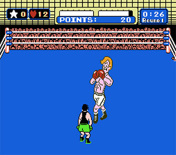 Pantallazo del juego online Mike Tyson's Punch-Out!! (NES)