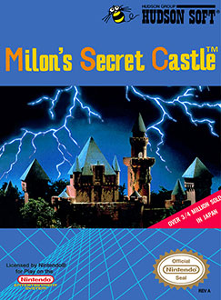 Portada de la descarga de Milon's Secret Castle
