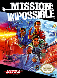 Juego online Mission: Impossible (NES)
