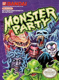 Juego online Monster Party (NES)