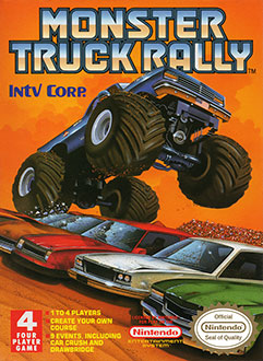 Juego online Monster Truck Rally (NES)