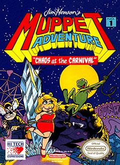 Portada de la descarga de Jim Henson's Muppet Adventure: Chaos at the Carnival