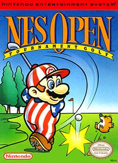 Portada de la descarga de NES Open Tournament Golf