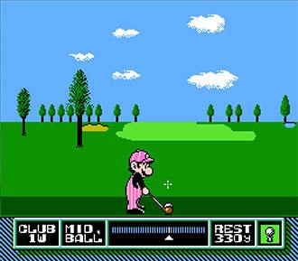 Imagen de la descarga de NES Open Tournament Golf