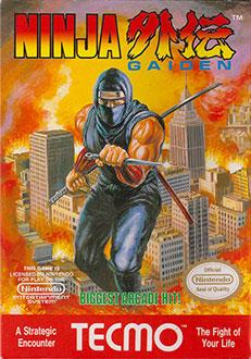 Carátula del juego Ninja Gaiden (NES)