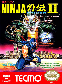 Juego online Ninja Gaiden II: The Dark Sword of Chaos (NES)