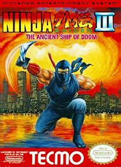 Portada de la descarga de Ninja Gaiden III The Ancient Ship of Doom