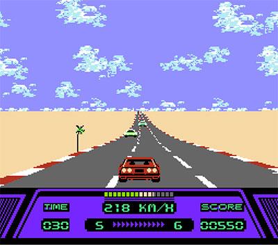 Imagen de la descarga de Rad Racer