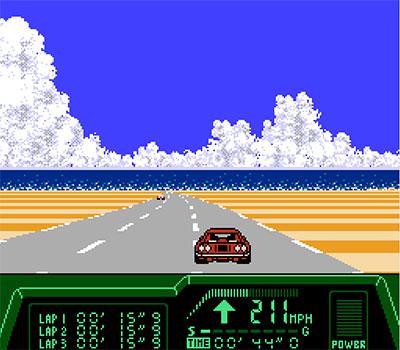 Imagen de la descarga de Rad Racer II