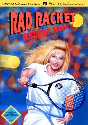 Portada de la descarga de Rad Racket: Deluxe Tennis II