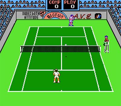 Imagen de la descarga de Rad Racket: Deluxe Tennis II