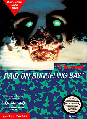 Portada de la descarga de Raid on Bungeling Bay