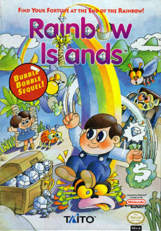 Juego online Rainbow Islands (NES)