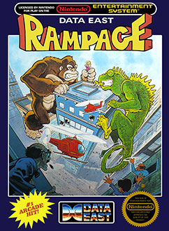 Juego online Rampage (NES)