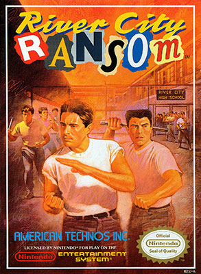 Portada de la descarga de River City Ransom