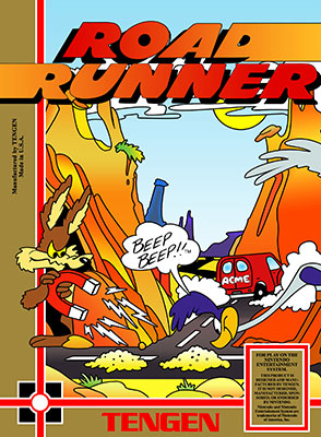 Portada de la descarga de Road Runner