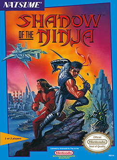 Carátula del juego Shadow of the Ninja (NES)