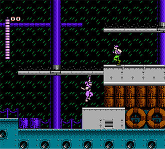 Pantallazo del juego online Shadow of the Ninja (NES)