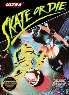 Carátula del juego Skate or Die (NES)