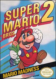 Carátula del juego Super Mario Bros 2 (NES)
