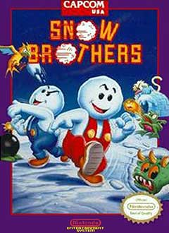 Portada de la descarga de Snow Brothers