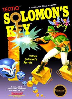 Carátula del juego Solomon's Key (NES)