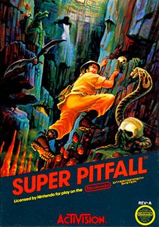 Portada de la descarga de Super Pitfall