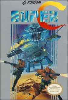 Carátula del juego Super C (NES)