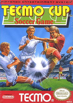 Juego online Tecmo Cup Soccer Game (NES)
