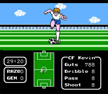 Pantallazo del juego online Tecmo Cup Soccer Game (NES)