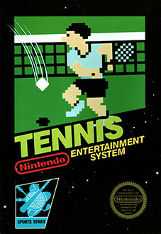 Carátula del juego Tennis (NES)