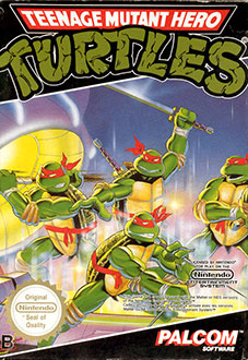 Carátula del juego Teenage Mutant Ninja Turtles (NES)