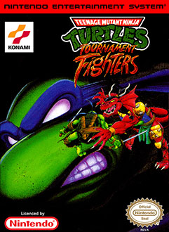 Juego online Teenage Mutant Ninja Turtles: Tournament Fighters (NES)