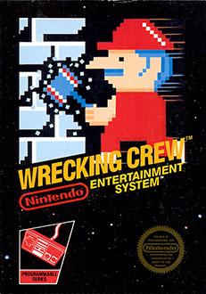 Carátula del juego Wrecking Crew (NES)