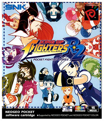 Portada de la descarga de King of Fighters R-2
