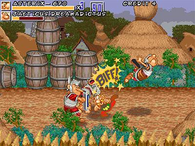 Asterix and Caesars Challenge